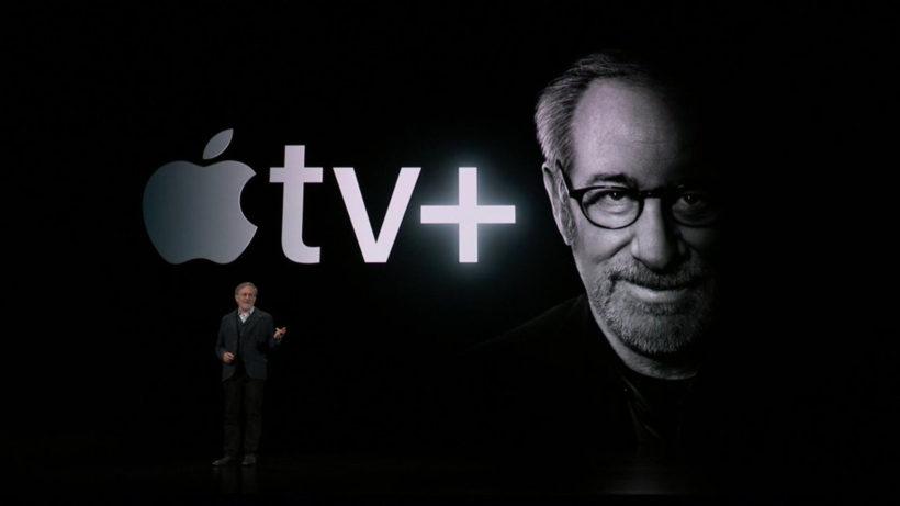 Steven Spielberg partnert mit Apple. © Apple