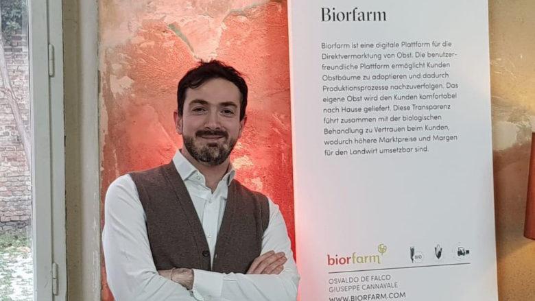 Biorfarm-Mitgründer Giuseppe Cannavale. © Biorfarm