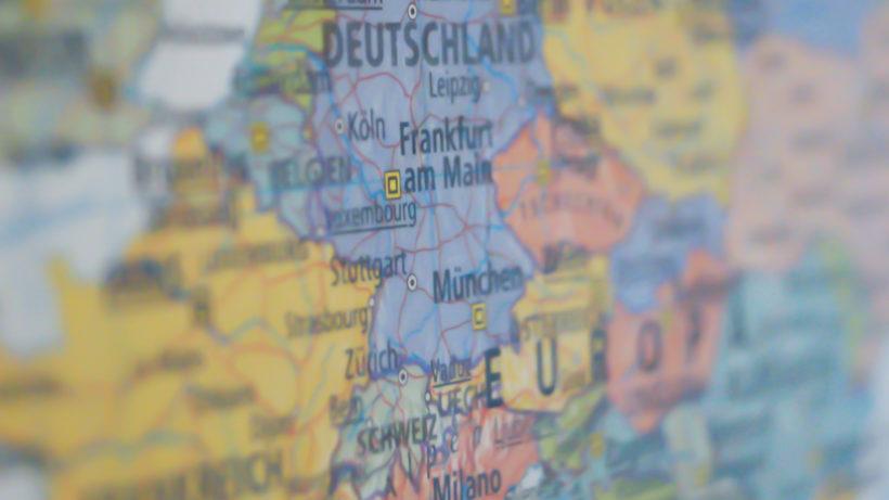 DACH-Raum auf der Landkarte. © Pexels