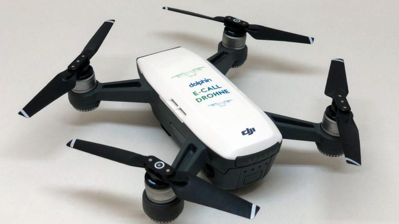 Die Drohne von Dolphin Technologies © Dolphin
