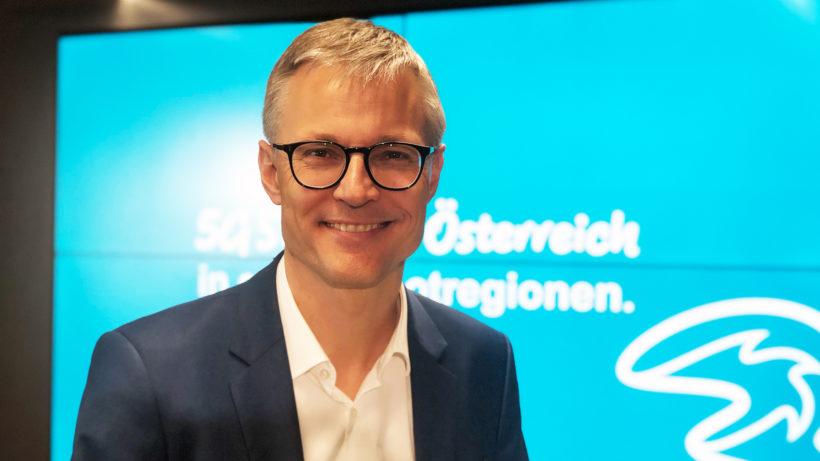 Drei-CEO Jan Trionow. © Jakob Steinschaden
