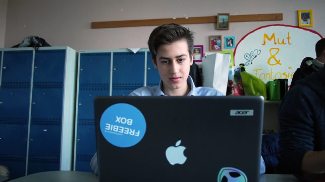 Moritz Lechner, Begründer der Freebiebox. © Trending Topics