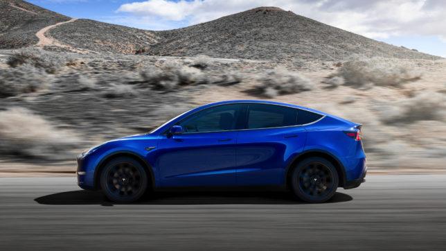 Tesla Model Y. © Tesla