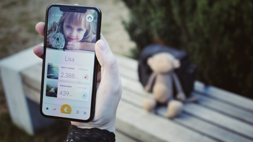 Die Monkee-App am iPhone. © Monkee.rocks