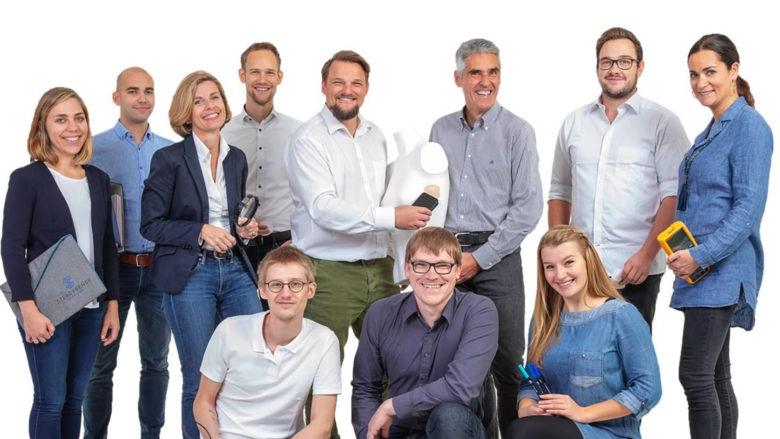 Das SteadySense-Team rund um Gründer Werner Koele. © SteadySense