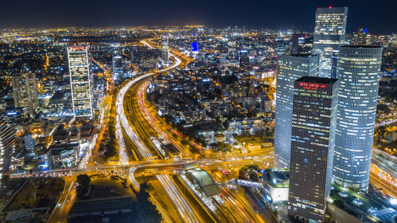 Tel Aviv by night. © Photo by Shai Pal on Unsplash