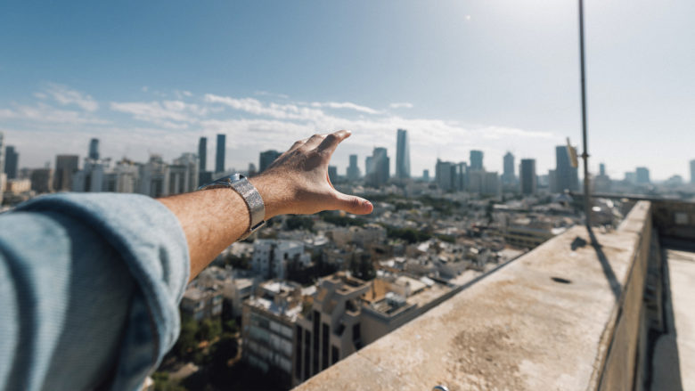 Über den Dächern von Tel Aviv. © Photo by Thomas Serer on Unsplash