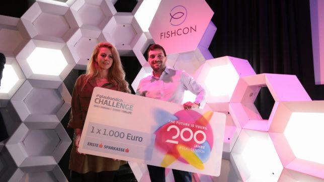 Fishcon ist Sieger der #glaubandich-Challenge Energy in St. Pölten © David Bitzan/Trending Topics