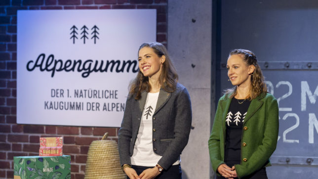 Die Alpengummi-Gründerinnen bei 2 Minuten 2 Millionen © Gerry Frank