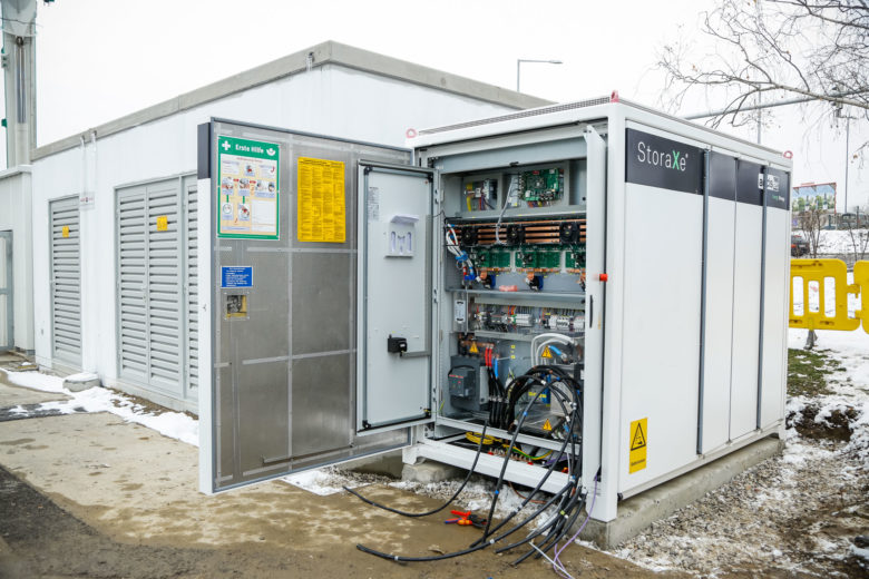 """""""High Power Charging""""-Standort am Verteilerkreis in Wien. © VERBUND"""