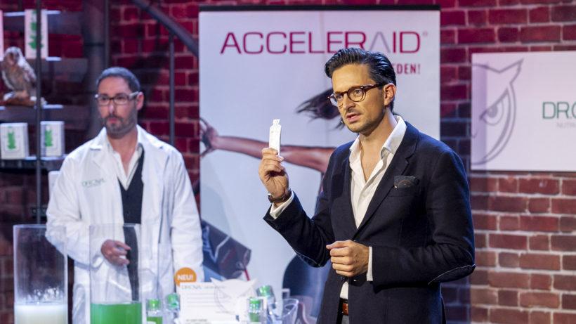 Georg Haschke pitcht sein Startup Dr. Owl bei 2 Minuten 2 Millionen © Gerry Frank