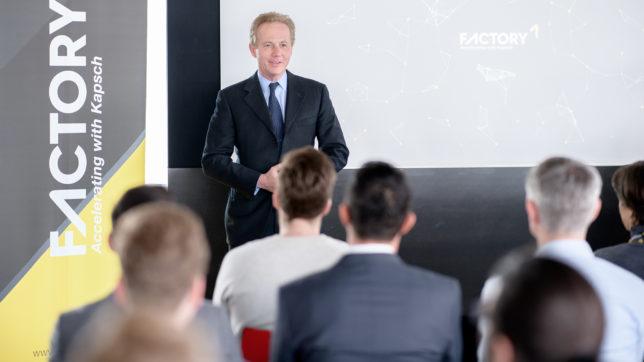 Kapsch-CEO Georg Kapsch. © Kapsch