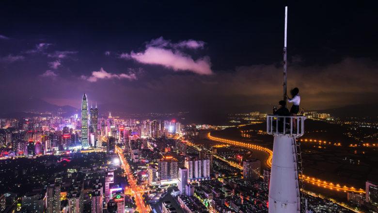 Shenzhen by night. © Photo by Denys Nevozhai on Unsplash