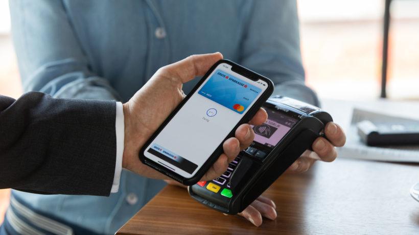Apple Pay mit Erste-Bank-Karte © Erste Bank