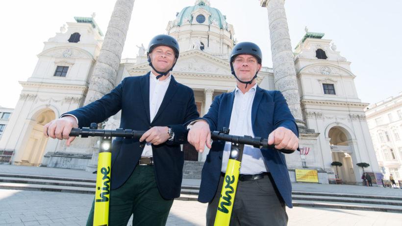 hive-CEO Tristan Torres Velat und City Manager Wien Alexander Juranek © Michael Gruber