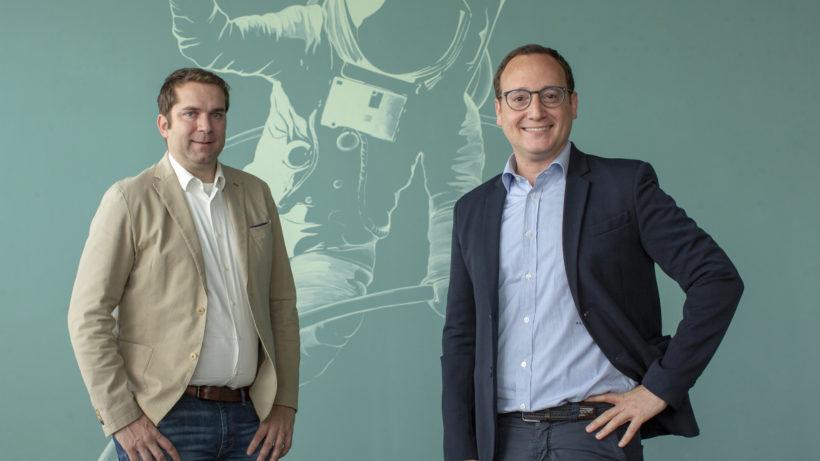 Dominik Greiner und Awi Lifshitz leiten ab sofort die Geschäfte des Startup- und Innovationszentrums weXelerate. © Stephan Rauch