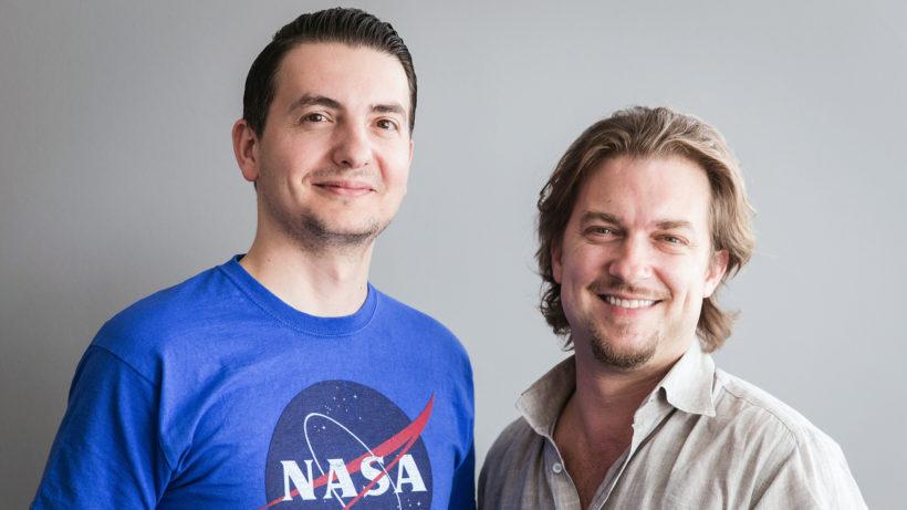 Vlad Gozman und Stefan Rasch von involve.me. © V. Gozman
