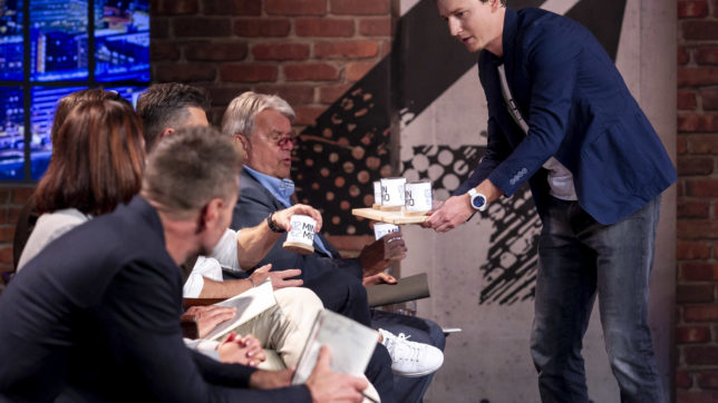 Clemens Schöpf von Ledovation präsentiert den Investoren. © Gerry Frank
