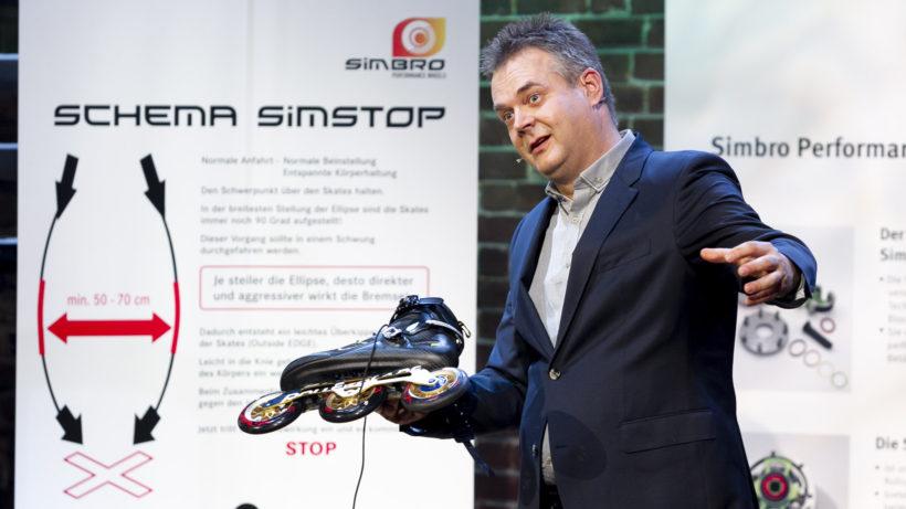 Simbro Wheels präsentiert die Simbrake bei 2 Minuten 2 Millionen © Gerry Frank