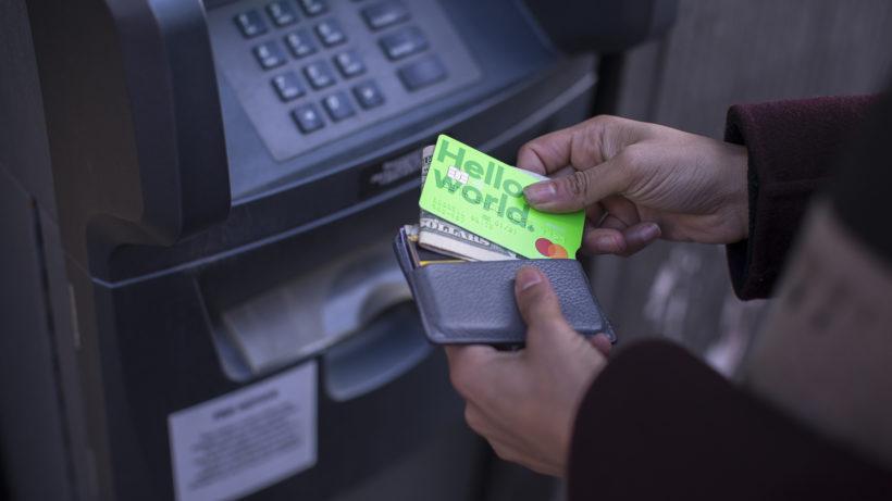 Die Debit-Karte von TransferWise. © TransferWise