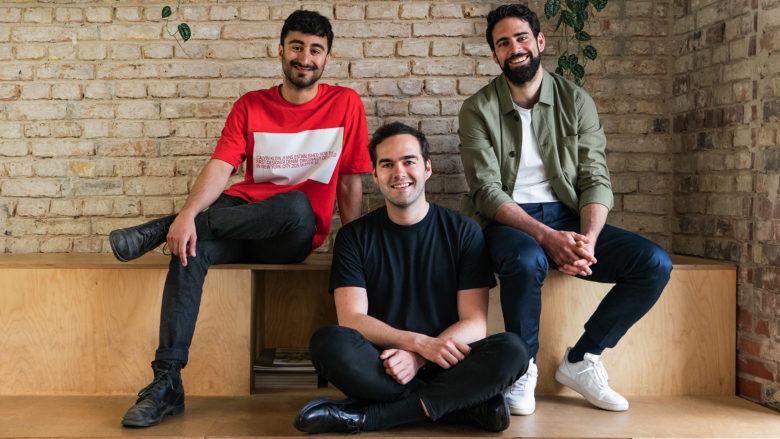 Die Unu-Gründer Elias Atahi, Pascal Blum und Mathieu Caudal. © unu