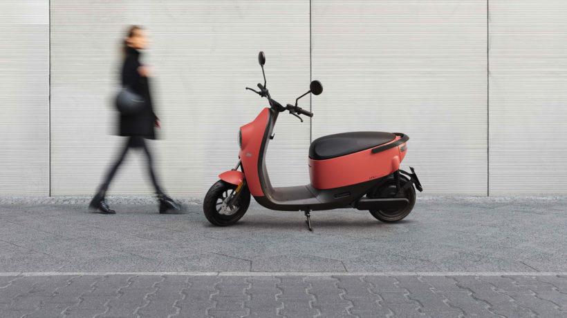 Der neue unu-Roller. © unu