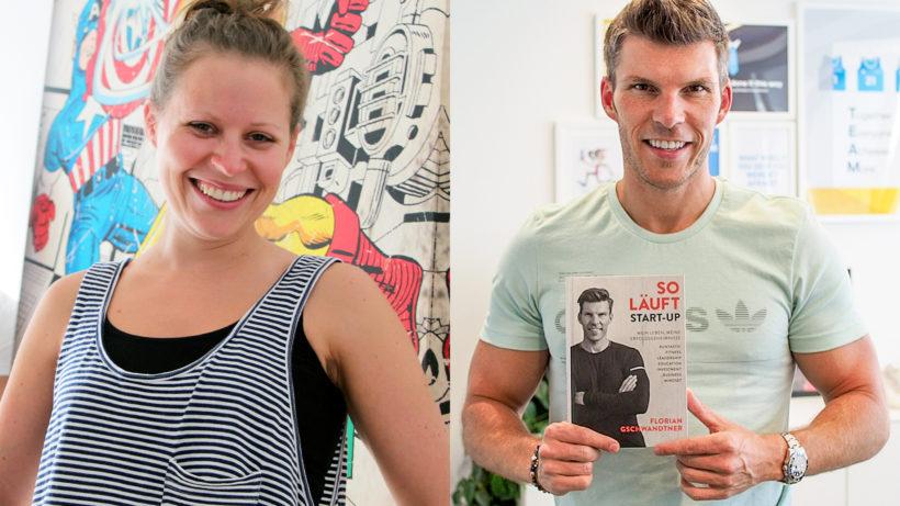 Shpock-Co-Founderin Katharina Klausberger und Runtastic-Co-Founder Florian Gschwandtner © Trending Topics/Montage