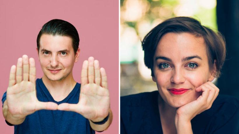 Vlad Gozman und Katharina Unger © Austrian Startups