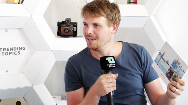 Andreas Röttl, Mitgründer von journi. © Trending Topics
