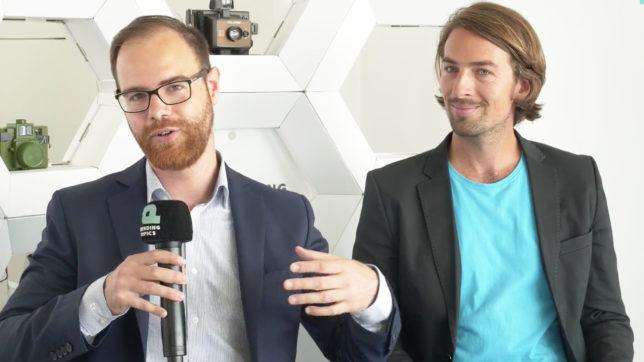 Bernhard Blaha, Mitgründer von Herocoin, und Chris Miess, Präsident der Digital Asset Association Austria. ©Trending Topics