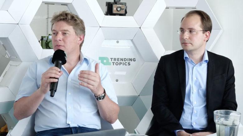 Blue Power-CEO Herbert Gösweiner und Paul Pöltner, Managing Partner Conda. © Trending Topics