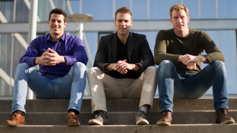 Die Chatvisor-Gründer Markus Wagner, Horst-Georg Fuchs und Mathias Holzinger. @Chatvisor