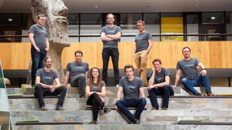 Das Team von Txture rund um die Gründer Thomas Trojer und Matthias Farwick © Charly Lair - Die Fotografen / Txture