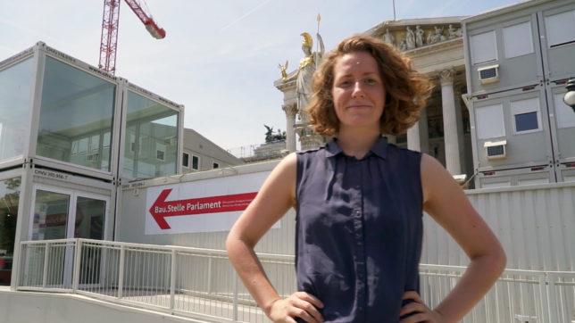 Katharina Rogenhofer vom der Initiative Klimavolksbegehren. © klimavolksbegehren.at