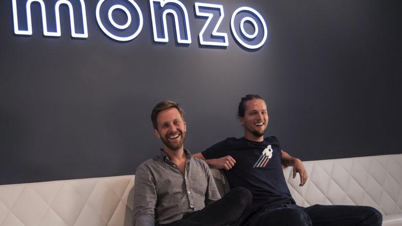Tom Blomfield und Jonas Huckestein von Monzo. © Monzo