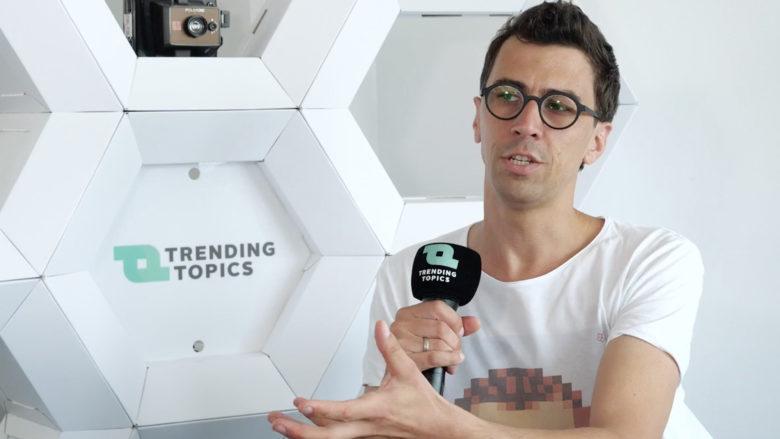 Philipp Sonnleitner, Gründer und CEO von Mikme. © Trending Topics