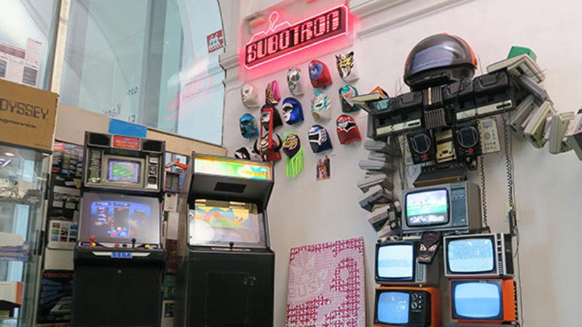 Das Subotron im Wiener Museumsquartier ist Shop, Museum, Bühne und Büro in einem © Subotron