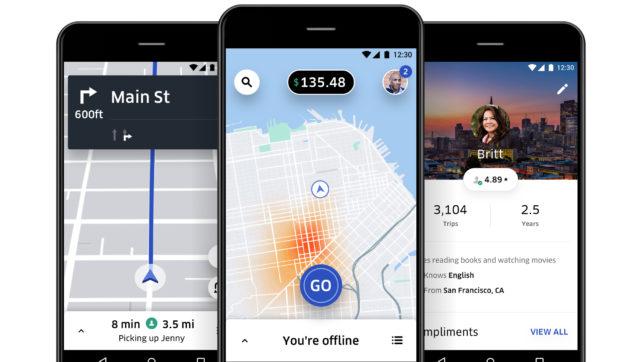 Die Uber-App. © Uber