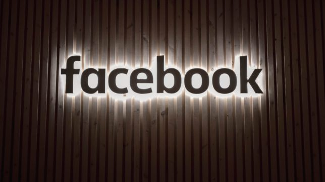Facebook-Logo auf Holz. © Photo by Alex Haney on Unsplash