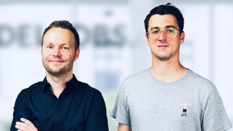 Markus Puckmayr und Klemens Schreiber gründeten devjobs.at © devjobs.at