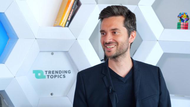Christoph Degendorfer, CEO und Gründer von Bim Spot. © Trending Topics