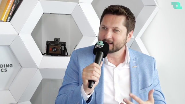 Damian_Izdebski, CEO von techbold. © Trending Topics