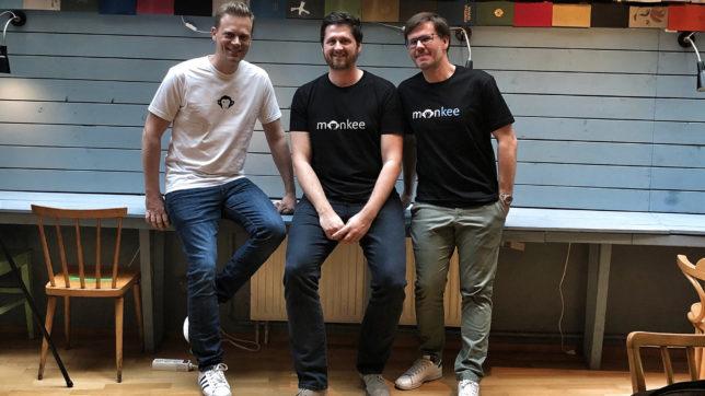 Die Monkee-Gründer Jean-Yves Bitterlich, Martin Granig und Christian Schneider. © Monkee