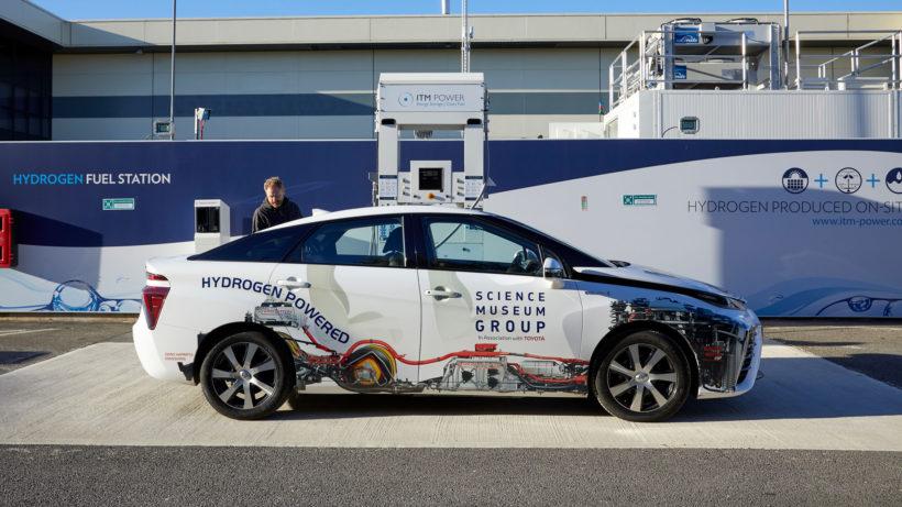Der Toyota Mirai - gehört die Zukunft den Wasserstoff-Autos? © Toyota