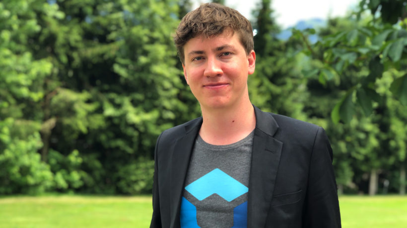 Blockpit-CEO Florian Wimmer. © Trending Topics