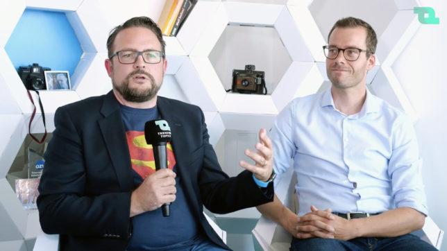 Lukas Praml und Franz Brudl von Youniqx. © Trending Topics