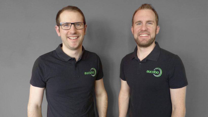 Die beiden aucobo-Gründer Benjamin Schaich und Michael Reutter © aucobo