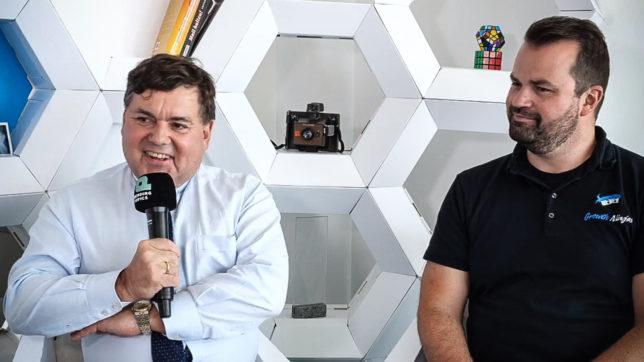 Heinrich Prokop (Clever Clover) und Stefan Greunz (Growth Ninjas) im Trending Topics Livestream © Trending Topics