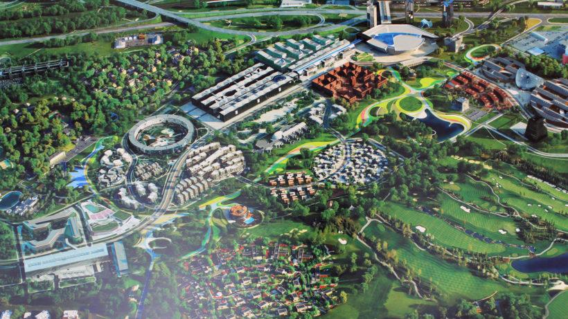 Skolkovo: Ein gigantischer Innovation-Bezirk im Südwesten Moskaus © Hans Sailer/INNOX