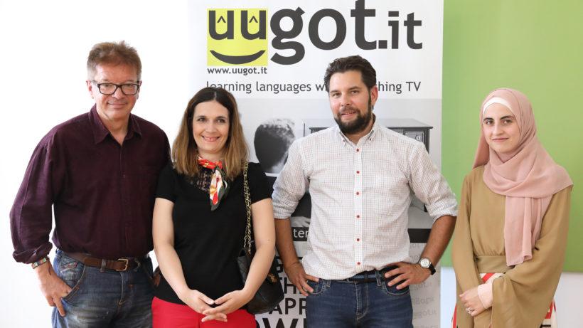 Landesrat Rudi Anschober holt sich für die Intagration von Migranten Hilfe bei dem Startup uugot.it © uugot.it/Ph.Etzlinger
